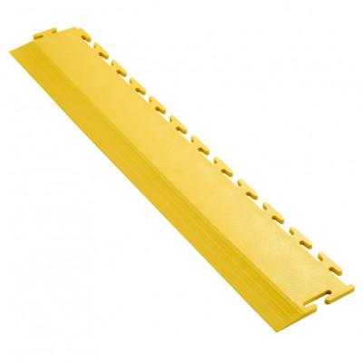 Anfahrrampe gerade gelb