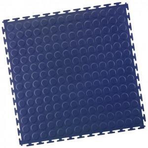 Garagenfliese Noppen blau