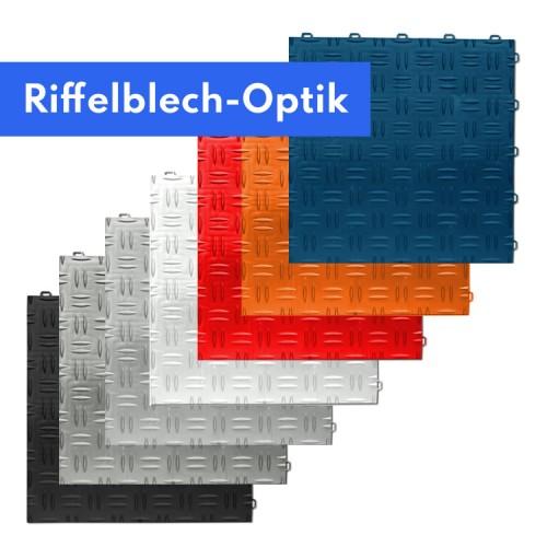 Riffelblech Optik